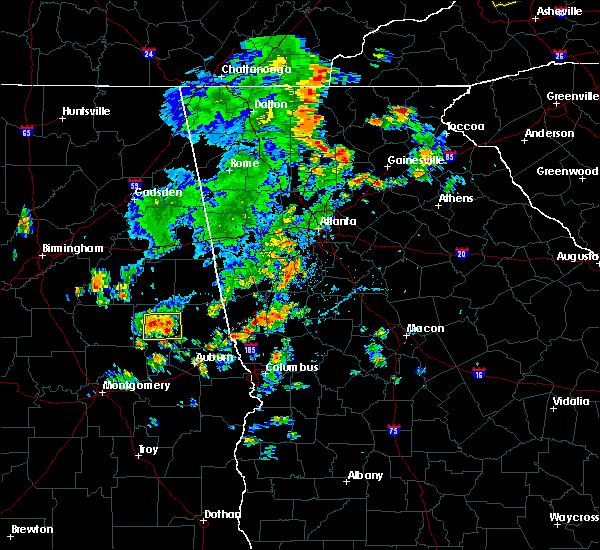 Radar Image for Severe Thunderstorms near Turin, GA at 6/21/2020 5:51 PM EDT