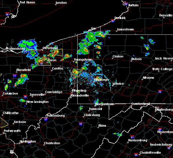 Radar Image for Severe Thunderstorms near Wampum, PA at 6/21/2020 5:51 PM EDT
