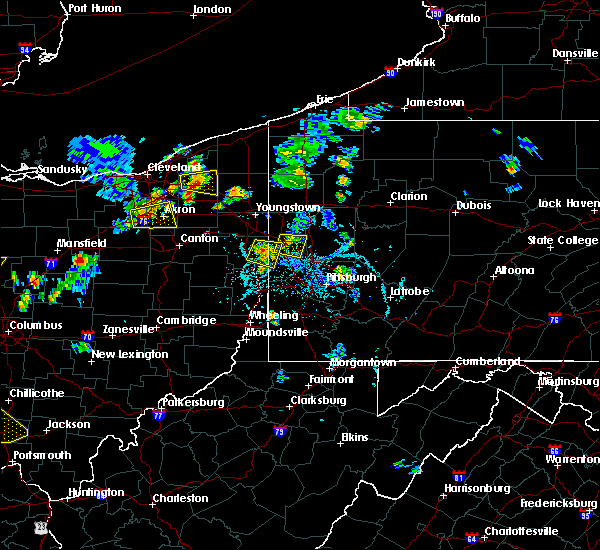 Radar Image for Severe Thunderstorms near Wampum, PA at 6/21/2020 6:00 PM EDT