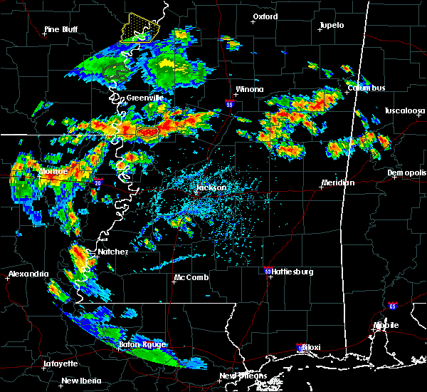 Radar Image for Severe Thunderstorms near Epps, LA at 6/21/2020 5:23 PM CDT
