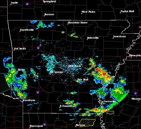 Radar Image for Severe Thunderstorms near Elaine, AR at 6/21/2020 5:26 PM CDT