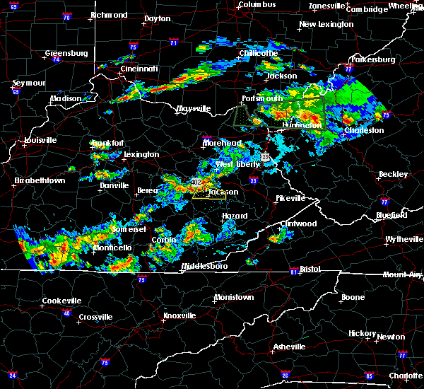 Radar Image for Severe Thunderstorms near Jackson, KY at 6/29/2015 7:15 PM EDT