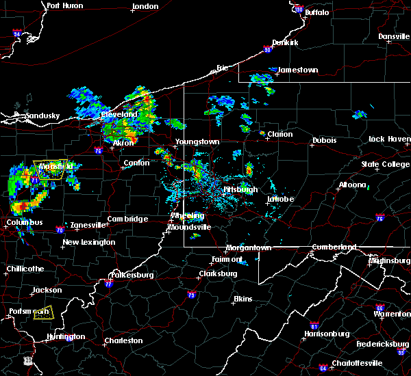 Radar Image for Severe Thunderstorms near Kittanning, PA at 6/21/2020 6:56 PM EDT