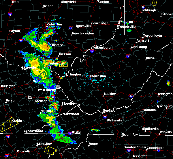 Radar Image for Severe Thunderstorms near Centerville, OH at 6/21/2020 7:00 PM EDT