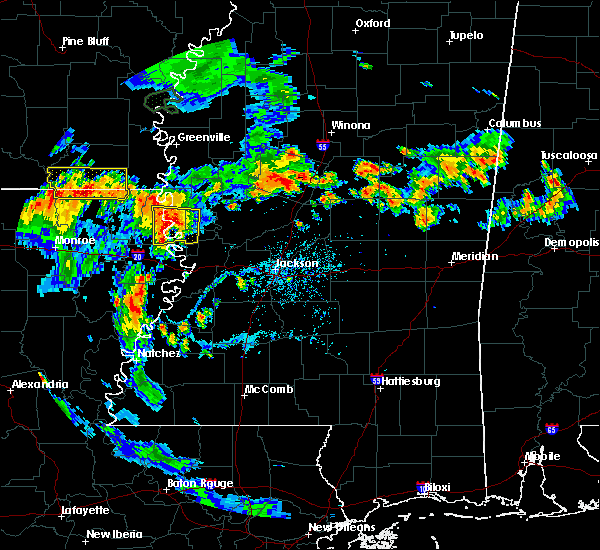 Radar Image for Severe Thunderstorms near Lake Providence, LA at 6/21/2020 6:15 PM CDT
