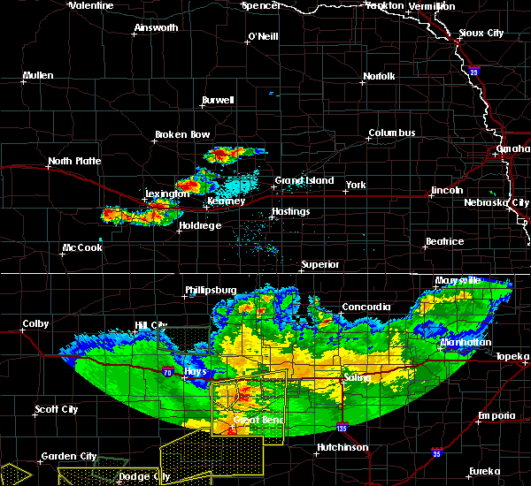 Radar Image for Severe Thunderstorms near Glenwood, NE at 6/21/2020 6:17 PM CDT