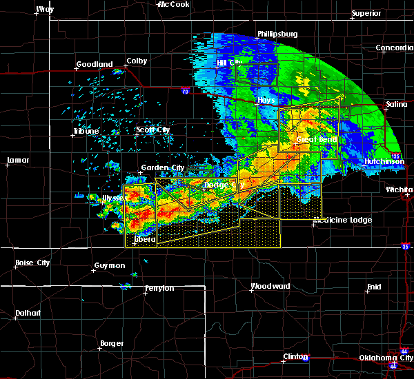 Radar Image for Severe Thunderstorms near Haviland, KS at 6/21/2020 6:22 PM CDT