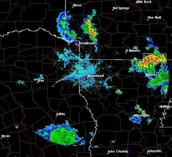 Radar Image for Severe Thunderstorms near Wilmot, AR at 6/21/2020 6:32 PM CDT