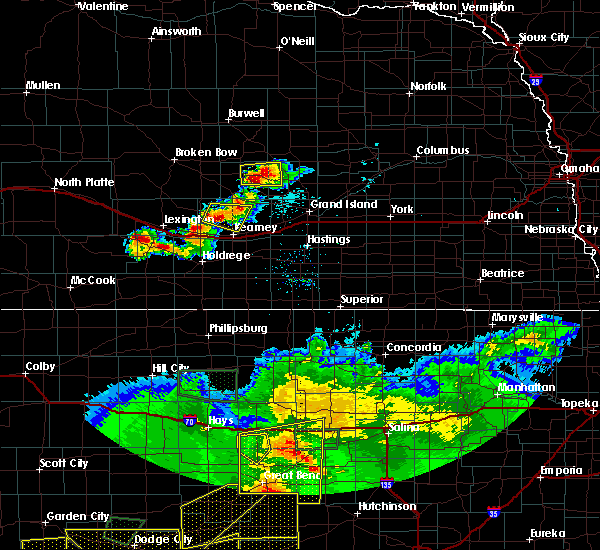 Radar Image for Severe Thunderstorms near Glenwood, NE at 6/21/2020 6:31 PM CDT