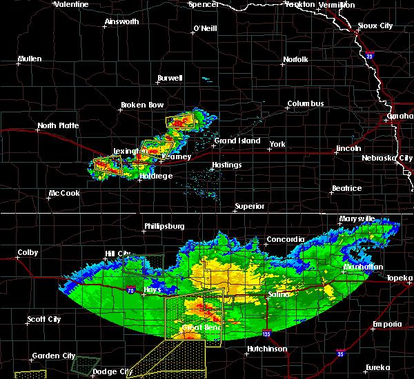 Radar Image for Severe Thunderstorms near Elwood, NE at 6/21/2020 6:36 PM CDT