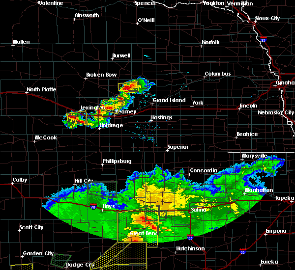 Radar Image for Severe Thunderstorms near Glenwood, NE at 6/21/2020 6:43 PM CDT