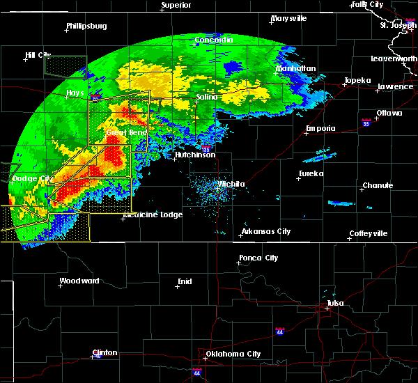 Radar Image for Severe Thunderstorms near Raymond, KS at 6/21/2020 6:44 PM CDT