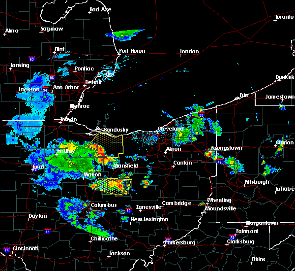 Radar Image for Severe Thunderstorms near Mount Gilead, OH at 6/21/2020 7:44 PM EDT