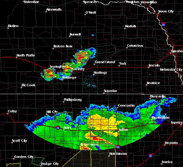 Radar Image for Severe Thunderstorms near Elwood, NE at 6/21/2020 6:47 PM CDT