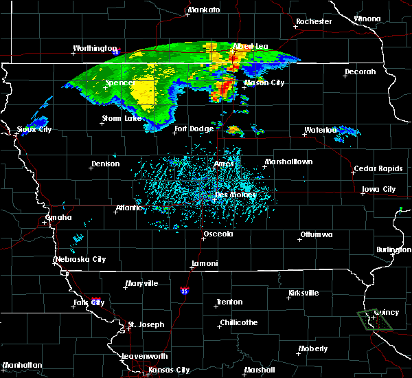 Radar Image for Severe Thunderstorms near Joice, IA at 6/21/2020 6:48 PM CDT