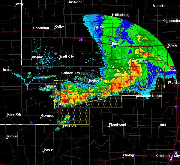 Radar Image for Severe Thunderstorms near Gate, OK at 6/21/2020 6:51 PM CDT