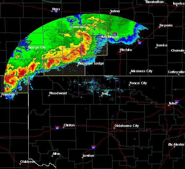 Radar Image for Severe Thunderstorms near Bluff City, KS at 6/21/2020 7:20 PM CDT