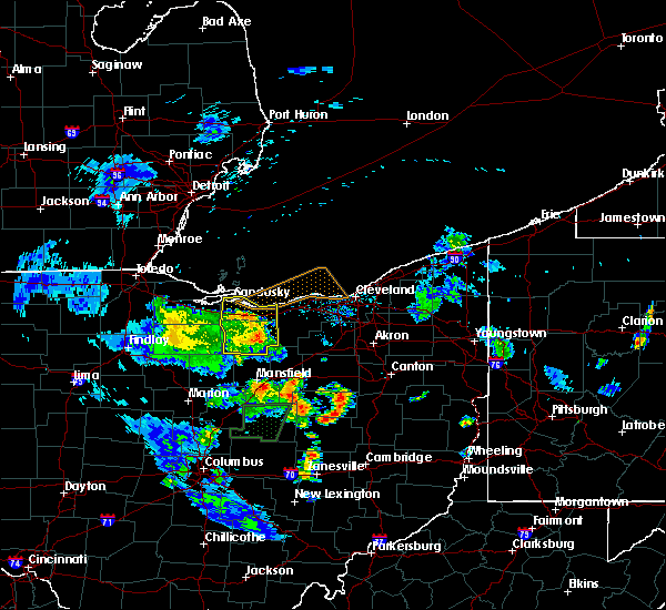 Radar Image for Severe Thunderstorms near Monroeville, OH at 6/21/2020 8:20 PM EDT