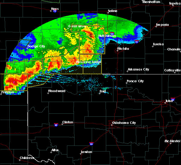 Radar Image for Severe Thunderstorms near Bluff City, KS at 6/21/2020 7:41 PM CDT