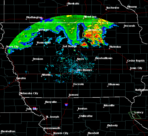 Radar Image for Severe Thunderstorms near Portland, IA at 6/21/2020 7:43 PM CDT