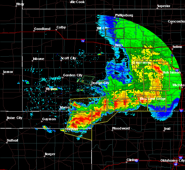 Radar Image for Severe Thunderstorms near Follett, TX at 6/21/2020 7:55 PM CDT