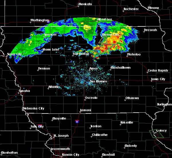 Radar Image for Severe Thunderstorms near Ackley, IA at 6/21/2020 7:58 PM CDT