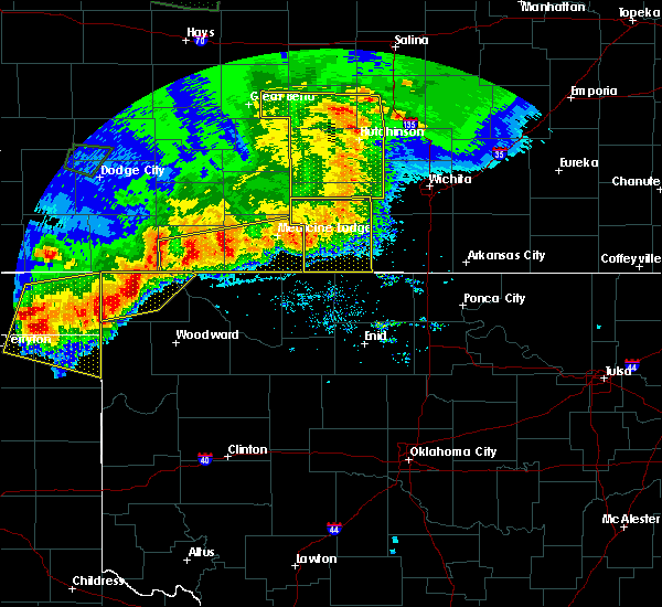 Radar Image for Severe Thunderstorms near May, OK at 6/21/2020 8:05 PM CDT