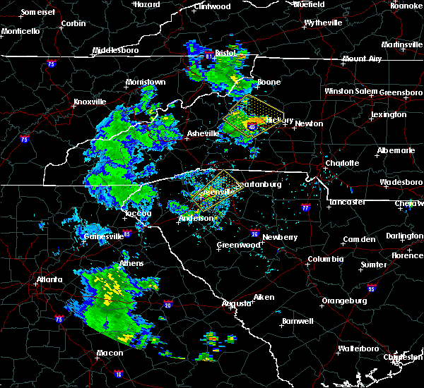 Radar Image for Severe Thunderstorms near Bethlehem, NC at 6/21/2020 9:12 PM EDT