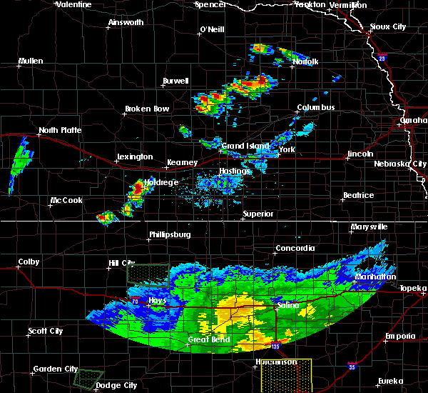 Radar Image for Severe Thunderstorms near Loomis, NE at 6/21/2020 8:22 PM CDT