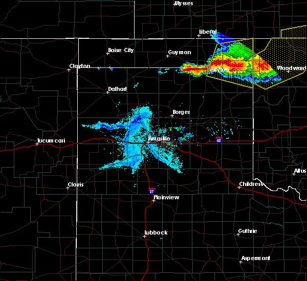 Radar Image for Severe Thunderstorms near Follett, TX at 6/21/2020 8:28 PM CDT