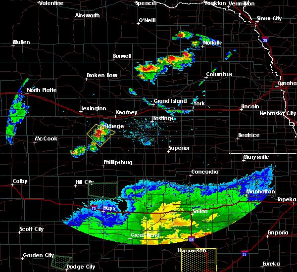 Radar Image for Severe Thunderstorms near Funk, NE at 6/21/2020 8:33 PM CDT