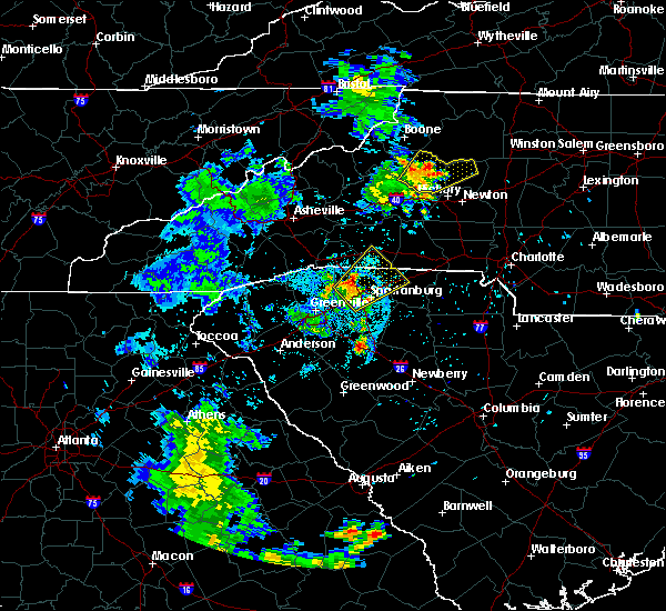 Radar Image for Severe Thunderstorms near Bethlehem, NC at 6/21/2020 9:40 PM EDT