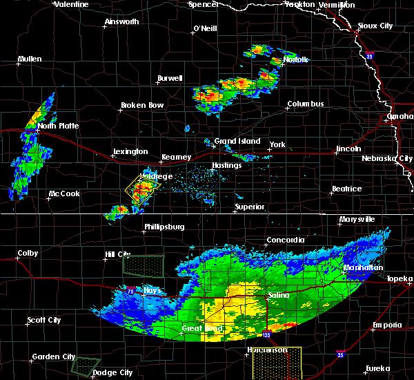Radar Image for Severe Thunderstorms near Funk, NE at 6/21/2020 8:44 PM CDT