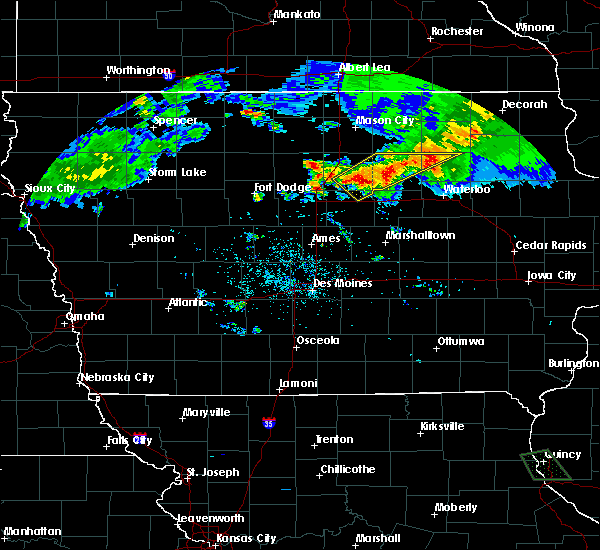 Radar Image for Severe Thunderstorms near Allison, IA at 6/21/2020 8:51 PM CDT