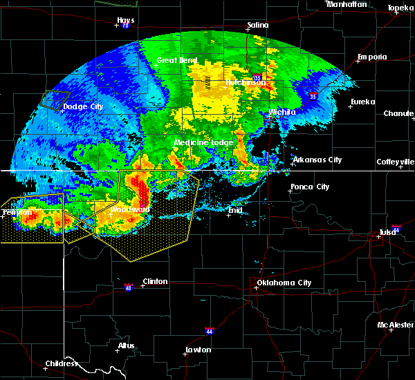 Radar Image for Severe Thunderstorms near Taloga, OK at 6/21/2020 9:07 PM CDT