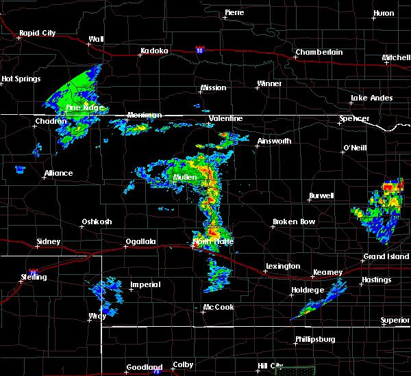 Radar Image for Severe Thunderstorms near Maxwell, NE at 6/21/2020 9:14 PM CDT