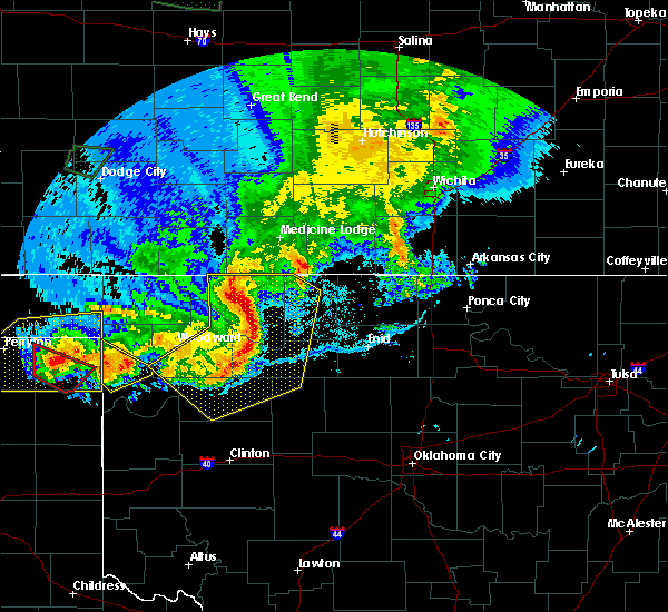 Radar Image for Severe Thunderstorms near Taloga, OK at 6/21/2020 9:22 PM CDT