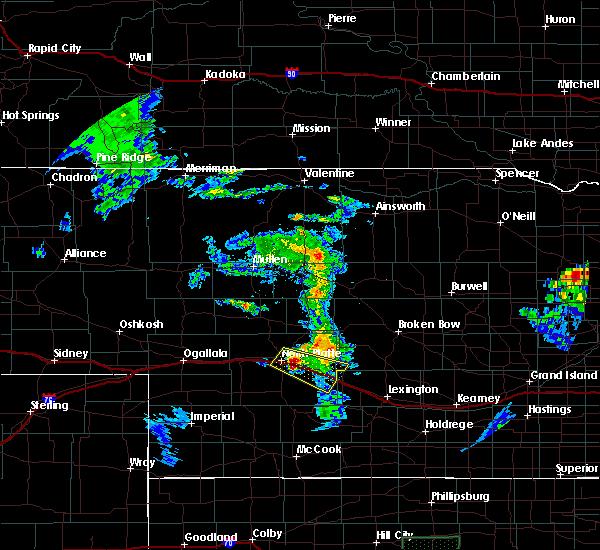 Radar Image for Severe Thunderstorms near Maxwell, NE at 6/21/2020 9:27 PM CDT
