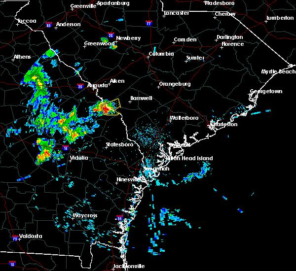 Radar Image for Severe Thunderstorms near Girard, GA at 6/21/2020 10:30 PM EDT