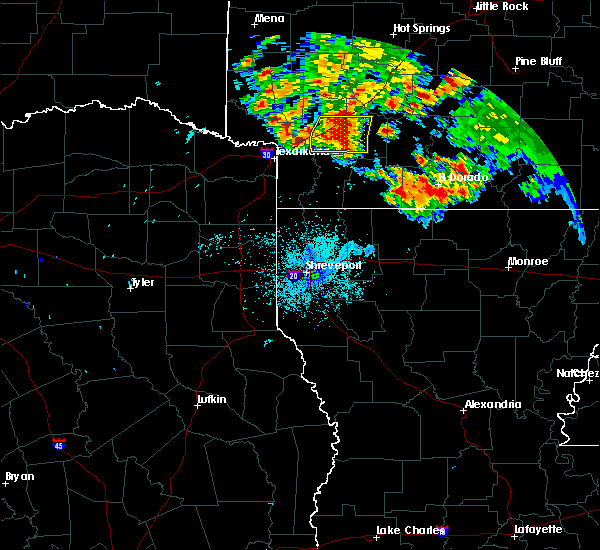 Radar Image for Severe Thunderstorms near Perrytown, AR at 6/21/2020 9:35 PM CDT