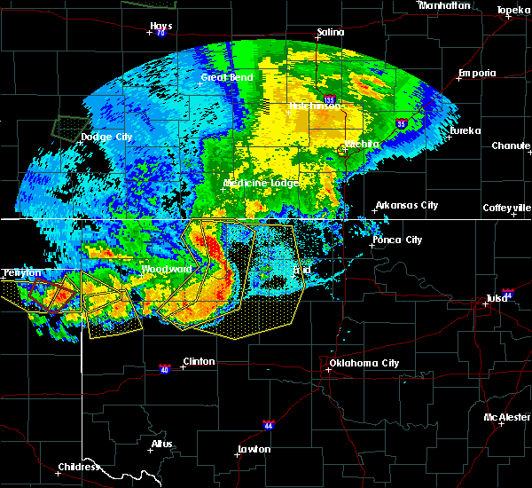 Radar Image for Severe Thunderstorms near Taloga, OK at 6/21/2020 9:37 PM CDT