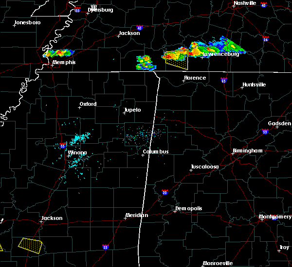 Radar Image for Severe Thunderstorms near Collinwood, TN at 6/29/2015 6:38 PM CDT