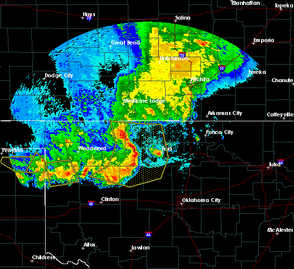 Radar Image for Severe Thunderstorms near Loyal, OK at 6/21/2020 9:56 PM CDT