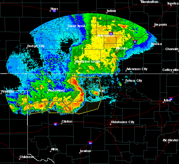Radar Image for Severe Thunderstorms near Taloga, OK at 6/21/2020 9:58 PM CDT