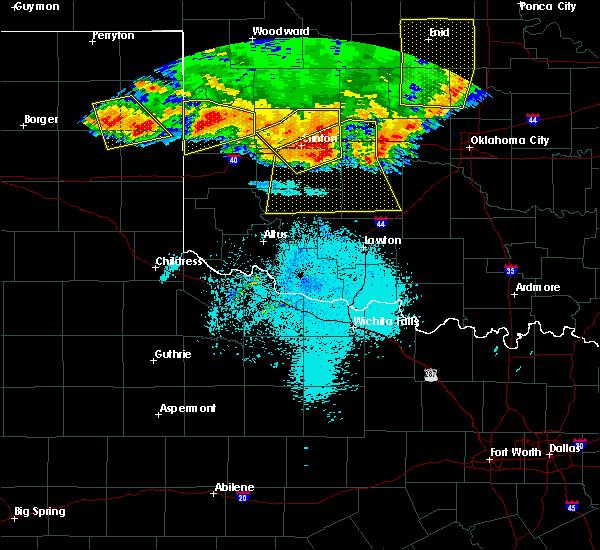 Radar Image for Severe Thunderstorms near Cheyenne, OK at 6/21/2020 10:58 PM CDT