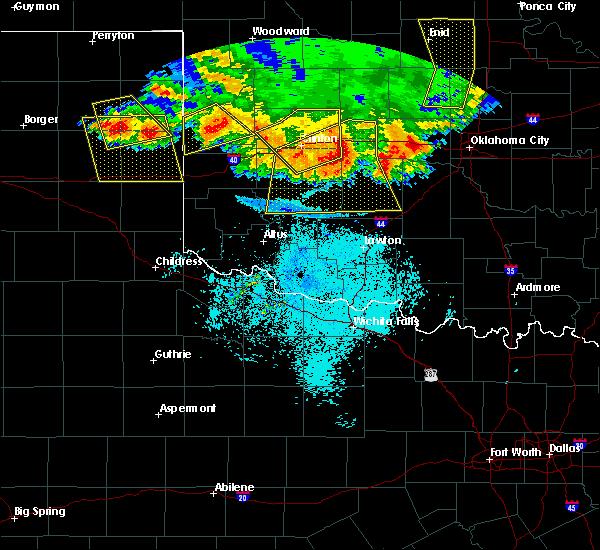 Radar Image for Severe Thunderstorms near Cheyenne, OK at 6/21/2020 11:13 PM CDT