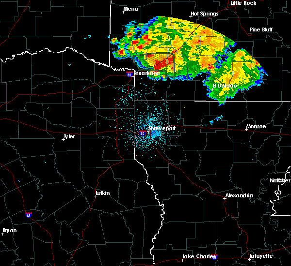 Radar Image for Severe Thunderstorms near Perrytown, AR at 6/21/2020 11:16 PM CDT
