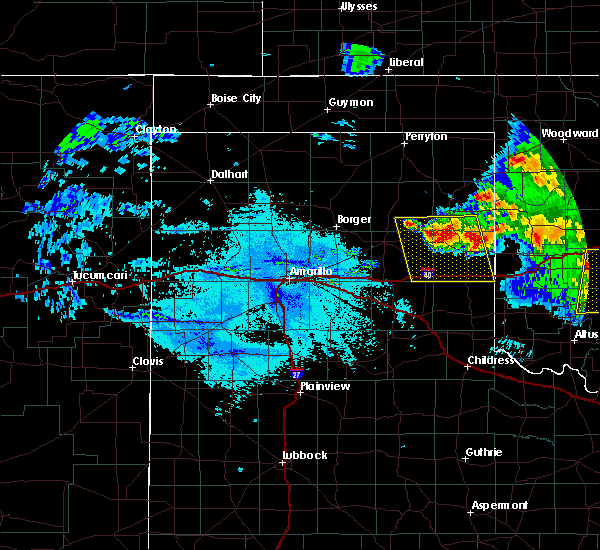 Radar Image for Severe Thunderstorms near Wheeler, TX at 6/21/2020 11:32 PM CDT
