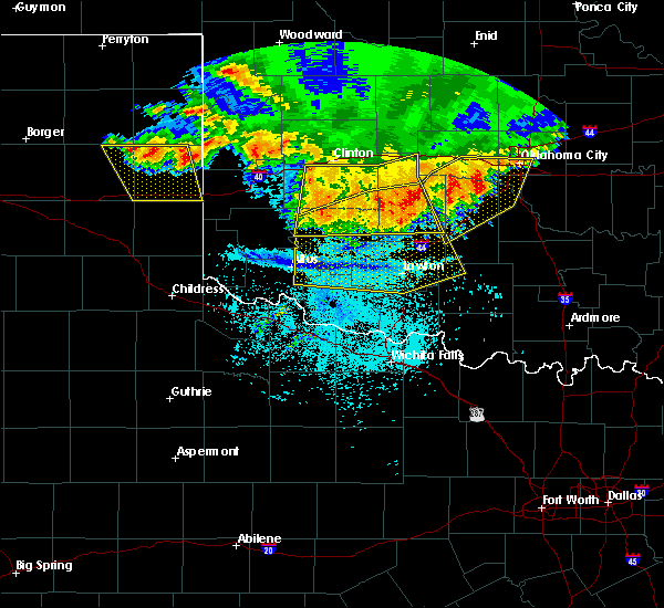 Radar Image for Severe Thunderstorms near Gotebo, OK at 6/21/2020 11:37 PM CDT