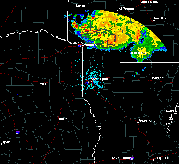 Radar Image for Severe Thunderstorms near Perrytown, AR at 6/22/2020 12:02 AM CDT